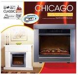 Classic Fire Chicago sfeerhaard