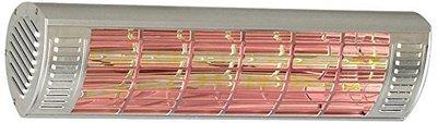 CasaTherm W2000 FB Gold LowGlare zilver elektrische terrasverwarming