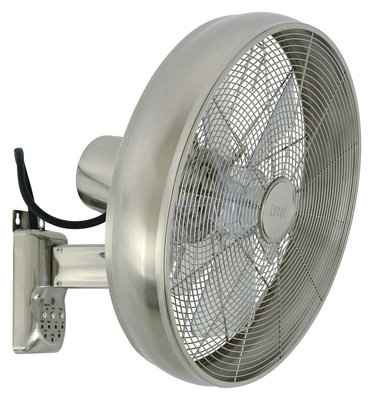 Beacon Breeze Wall Fan chrome wandventilator 40 cm
