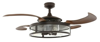 Beacon New Fanaway Dark Koa plafondventilator 122 cm