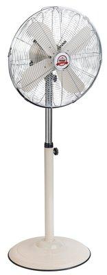 Bestron AFS45RE staande ventilator chroom 45 cm
