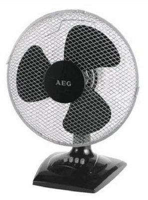 AEG VL 5529 tafelventilator zwart 30 cm