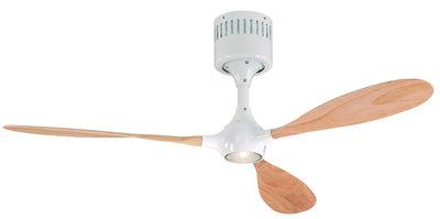 productfoto CasaFan Helico Paddel lichtbruine plafondventilator 132 cm