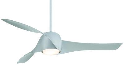 productfoto van de Beacon Artemis Silver plafondventilator 147 cm